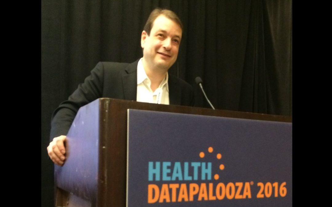 Zeb Kimmel presents at Health Datapalooza 2016